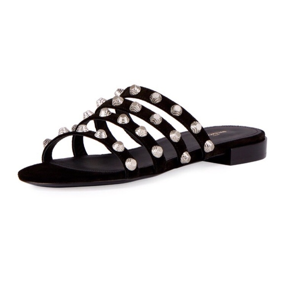buy cheap shop cheap sale footaction Balenciaga Arena Stud Multistrap Sandals 2rTSS
